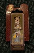 Disney Pin Haunted Mansion Stretching Room Goofy Donald Mickey Mouse Pin Set/lot