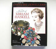 The Jewels Of Miriam Haskell By Deanna F. Cera 1997 Costume Jewelry Very Good