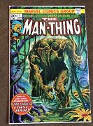 Man-thing 1 Marvel Bronze Age 2nd Howard The Duck