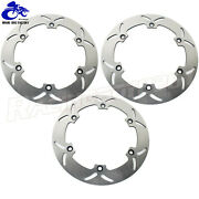 296mm Round Front Rear Brake Rotor For Honda Gl1500 Goldwing 1500 A Se 1988 1989