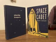 Robert Heinlein Starship Troopers And Space Cadet True First Editions