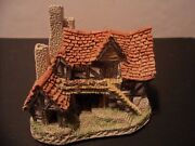 David Winter Cottages The Bothy Retired Hand Painted 1983 Early Label