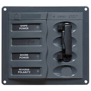 Bep Ac Circuit Breaker Panel Without Meters 2dp Ac230v Stainless Steel