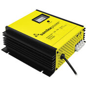 Samlex 15a Battery Charger - 12v - 3-bank - 3-stage W/dip Switch Andamp Lugs