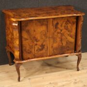 Italian Sideboard Furniture Commode Cabinet In Walnut Wood Antique Style 900