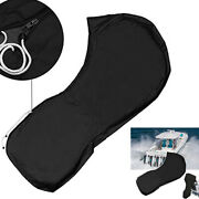 15-20hp/25-30/40-50/60-90hp/100-150hp Boat Full Outboard Engine Cover Black