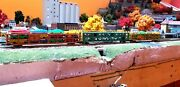 N Scale Gauge Set Of 3 Large Car Transports Train Cars From Atlas And Bachmann