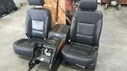 Tahoe Front Seat Bucket-bench Seat Opt An3 Leather W/luxury E