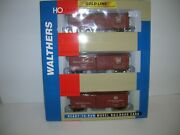 Walthers Ho Gold Line 932-9023 Prr Express Box Car 3 Pack Lot 20924