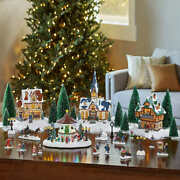 Christmas Village With Lights And Music Decor 30 Pieces 2019 Animated Plays 8 Song