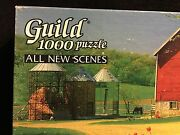 Golden Guild Jigsaw Puzzle 1000 Pieces Vintage Country Blossoms Ages 12+ Used
