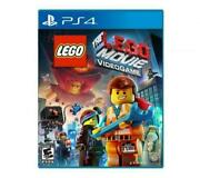 The Lego Movie Videogame Ps4 Sony Playstation 4 2014 E10+ Wb Tt Games Multiplay