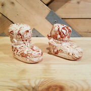 Alaskan Clay Pair Of Boots Salt And Pepper Shakers - Swanky Barn