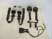 1991-1999 Mitsubishi 3000gt Stealth Seat Belts And Buckles Set All 4