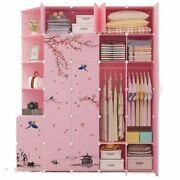 Clothes Storage Closets Home Furniture Assembly Modern Bedroom Wardrobes Cabinet