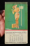 1944 Eastern Newspaper Supply Corks Elvgren Sexy Pinup Note Pad Corona Ny Queens
