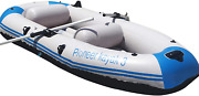 Whitewater Kayak Two Person Tandem Inflatable Fishing Double Boat Oarsandpump Set