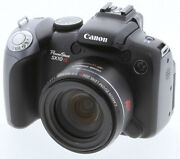 Canon Powershot Sx10 Is Digital Camera W. 20x Zoom Lens Made In Japan