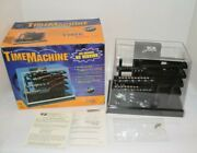 Vintage Time Machine Ball Bearing Kinetic Clock Dc Version Complete Works In Box