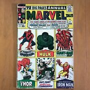 Marvel Tales Annual 1 1964 And 2 1965 Origin Stories Galore