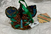 Disney Hand Painted Artist Ornament Splash Mountain Ear Hat Sold Out New