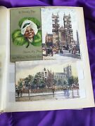 50 - Vintage Post Cards In Album - Mostly Ralph Tuck Post Cards