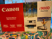 New-canon I900d Digital Photo Inkjet Printer With Photo Paper.