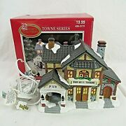Dickens Collectables Towne Series Lighted Pied Bell Tavern Pub 1998 Vintage