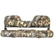 Lowe Boat Folding Bench Seat 2083115 | 55 3/4 X 21 Inch Camouflage
