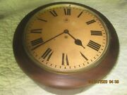 Antique Wwii Raf Royal Air Force Wall Clock Complete Restored W.elliot 1941