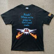 Super Vintage 90and039s Back To The Future T-shirt Made In Usa / List No.365