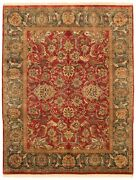 Hand-knotted Carpet 8and0391 X 10and0394 Traditional Oriental Wool Area Rug
