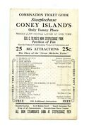 Coney Island Steeplechase Park Combination Ticket Guide