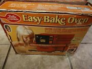 Betty Crocker Easy Bake Oven 1973 W/ Box Kenner/general Mills Red Tested Working