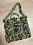 Rrl Authentic Duck Camouflage 2way Tote Shoulder Bag New Unused From Japan