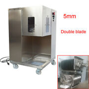 Qsj-a Shredded Meat Cutting Machine 5mm Double Blade Dice And Shreds Slicer