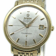 Omega Constellation Automatic 168.004 Date Vintage Menand039s Watch 1967 Wl30960