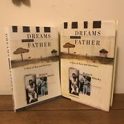 Barack Obama Dreams From My Father 1st/1st And Arc Plus Promised Land Signed