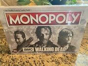 The Walking Dead Amc Tv Monopoly Game - New - Sealed