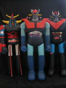 Mazinger Z Great Mazinger Retro Figurines Vintage Used Set Of 3 F/s From Japan