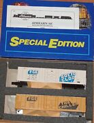 Athearn 2304 Special Edition 57 Ft Reefer Kit 2-pk Fge Solid Clod And The Chiller