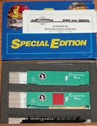 Athearn 2317 Special Edition 50 Ft Plug Door Boxcar Kit 2-pack Great Northern Gn
