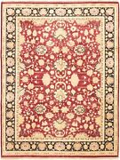Hand-knotted Carpet 9'3 X 12'0 Bordered, Floral, Traditional Wool Rug
