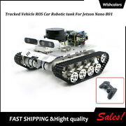 Tracked Vehicle Ros Car Robot Tank Assembled Educational For Jetson Nano B01 4gb
