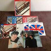 The Beatles Lp Blue-red Version Box Fully Equipped Toshiba Music Industry Japan