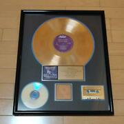Megadeth Rust In Peace Gold Disc / List No.1126