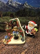 Goebel Figurines 2 Are Hummels Christmas Time 2106 And Christmas Time Hummels