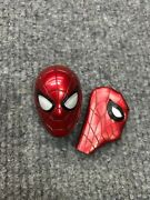 1/6 Hot Toys Mms482 Iron Spider-man Tom Holland Led Head Mask For Action Figure