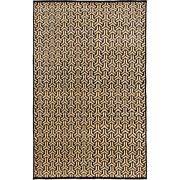 Surya Lud2002-810 Ludlow 120 X 96 Inch Black And Yellow Area Rug Viscose