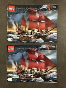 Lego 4195 Pirates Caribbean Queen Anne's Revenge Instruction Book Manual Only